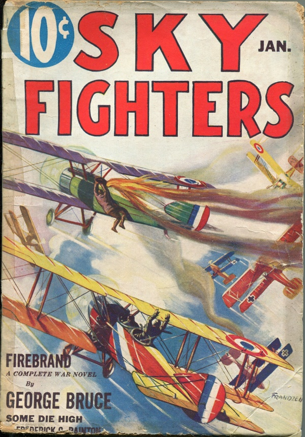 Sky Fighters January 1933