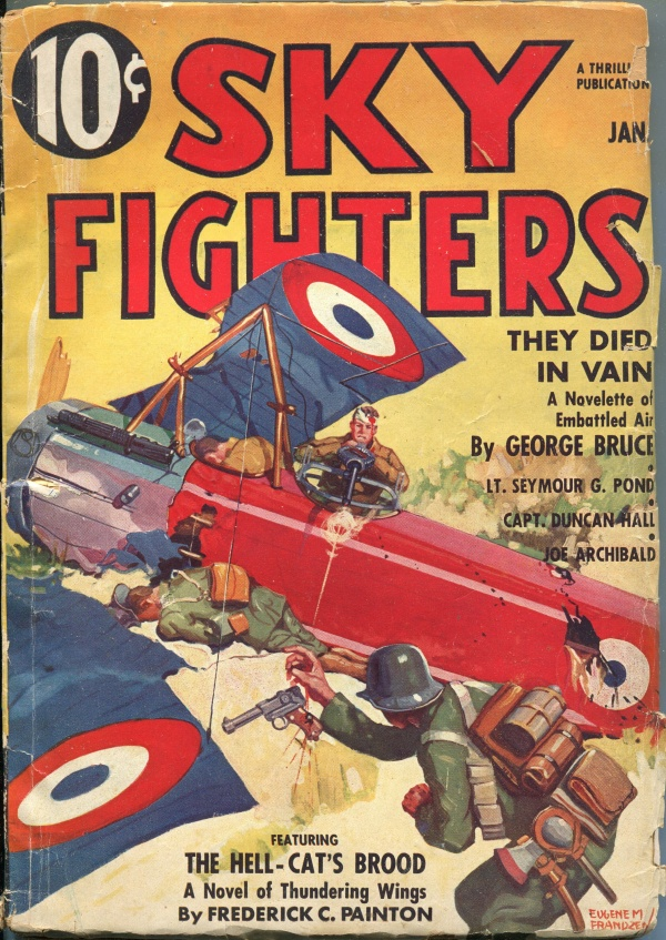 Sky Fighters January 1937