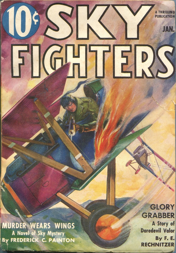 Sky Fighters January 1938