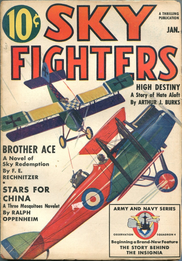 Sky Fighters January 1939