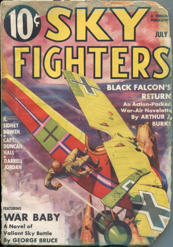 Sky Fighters July 1936