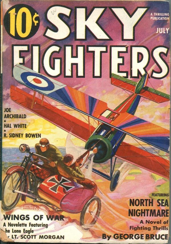 Sky Fighters July 1937