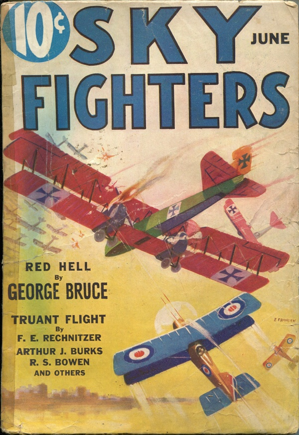 Sky Fighters June 1933
