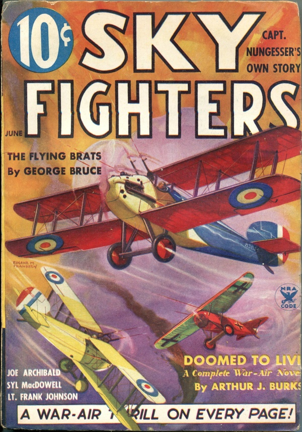 Sky Fighters June 1935