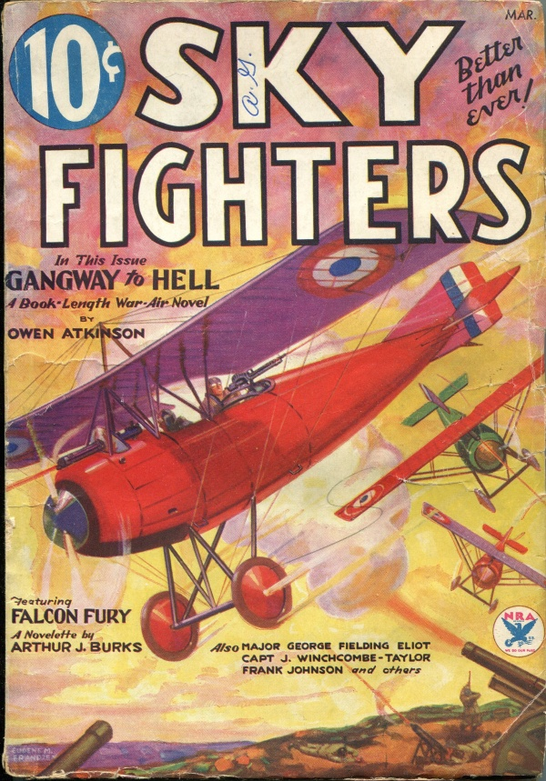 Sky Fighters March 1934