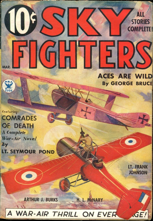 Sky Fighters March 1935