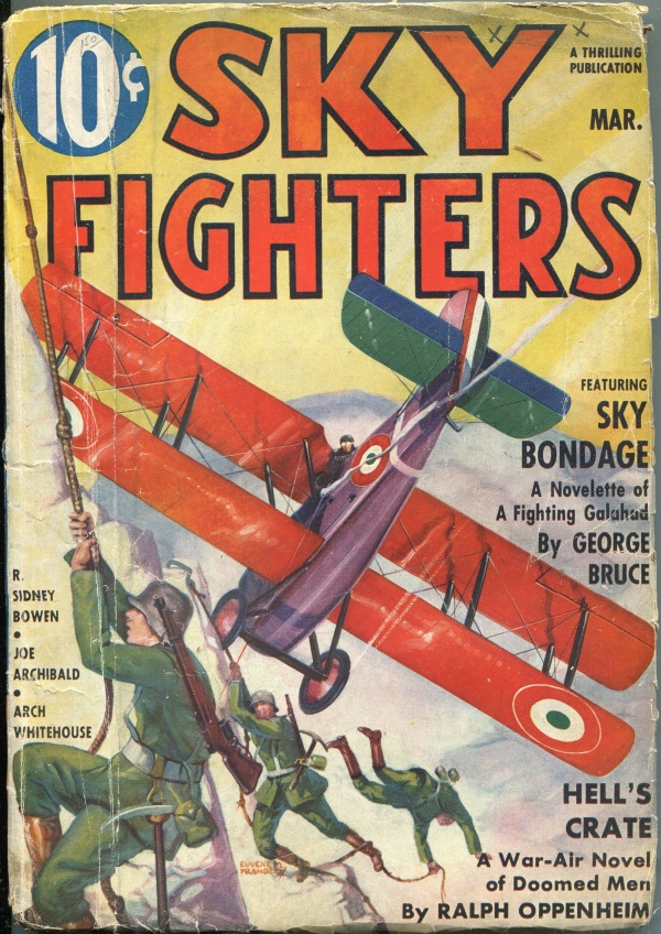 Sky Fighters March 1937