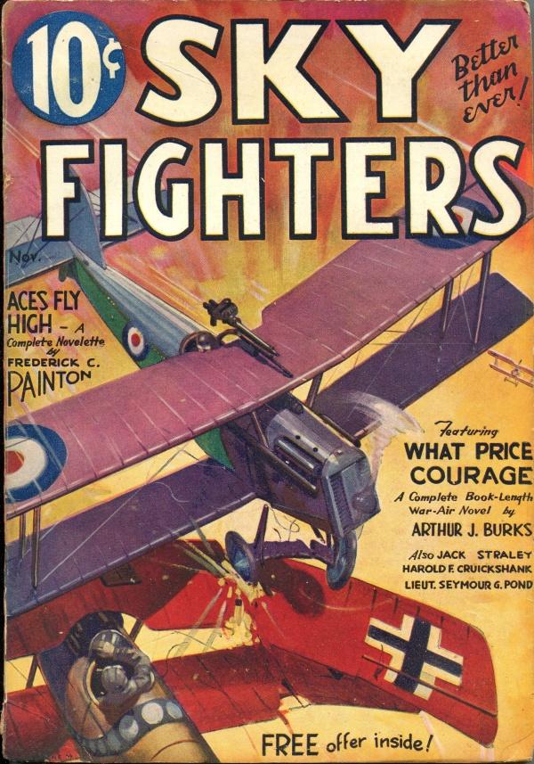 Sky Fighters November 1933