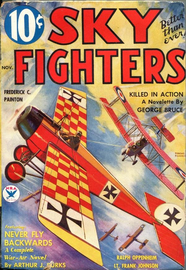 Sky Fighters November 1934