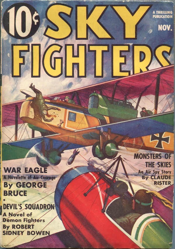 Sky Fighters November 1937