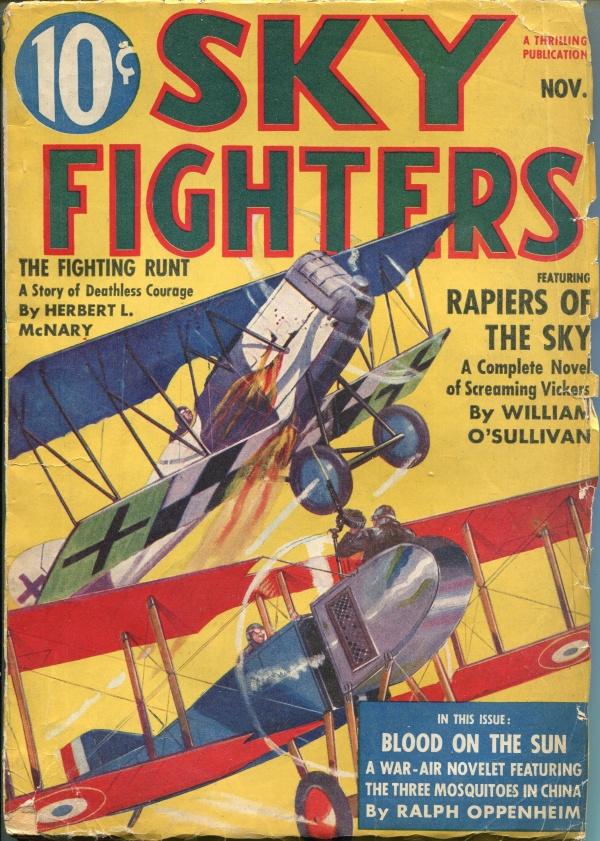 Sky Fighters November 1938