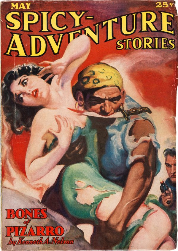 Spicy Adventure Stories - May 1936