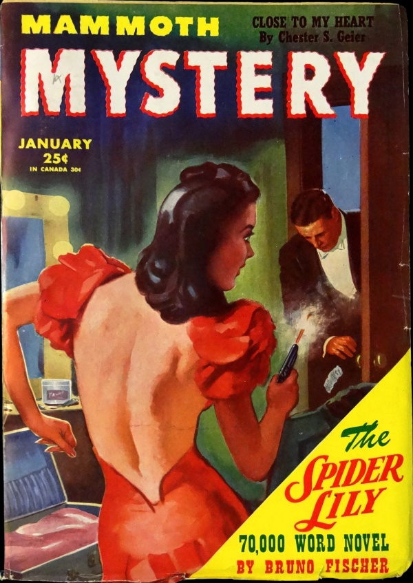 Mammoth Mystery Vol. 2, No. 1 (Jan. 1946). Cover Art by Richard E. Epperley