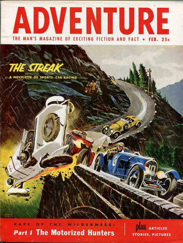 Adventure February 1954