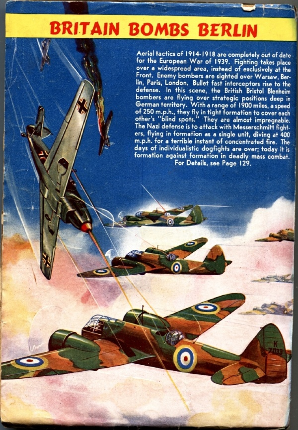 Air Adventures December 1939 Back