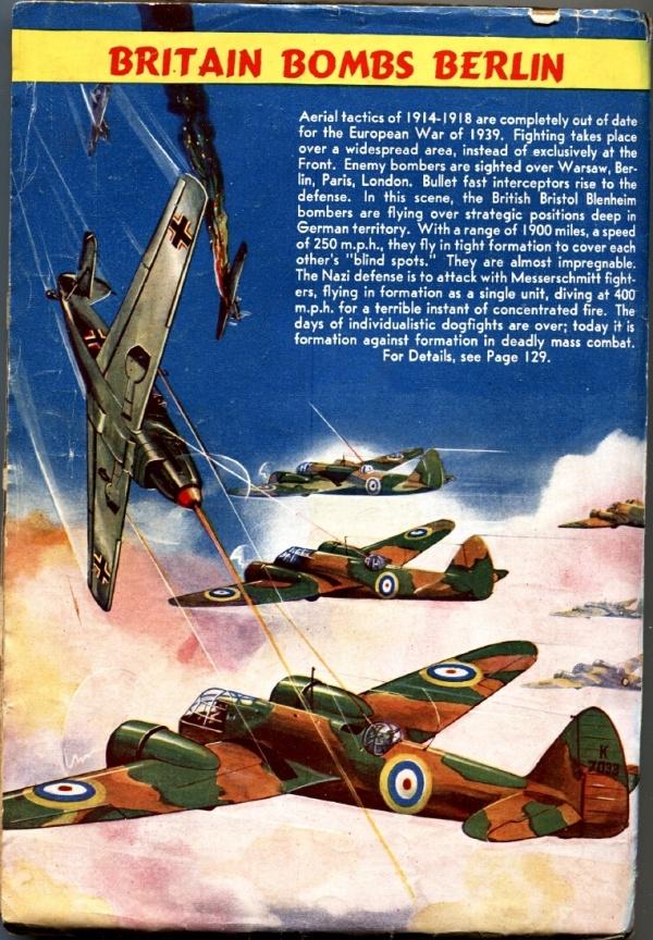 Air Adventures December 1939 Back