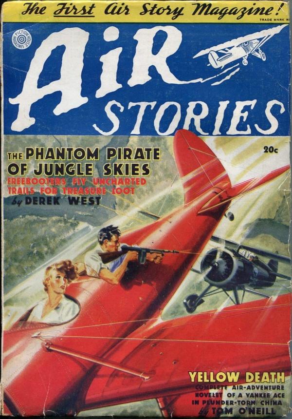 Air Stories Spring 1937