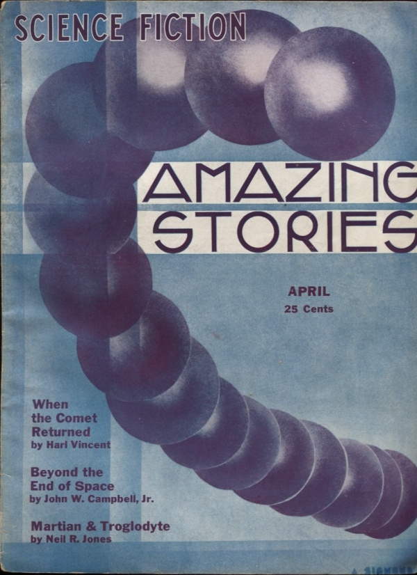 Amazing Stories April 1933