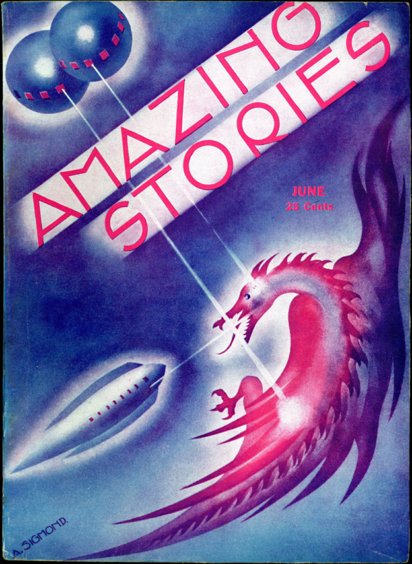 Amazing Stories June 1933