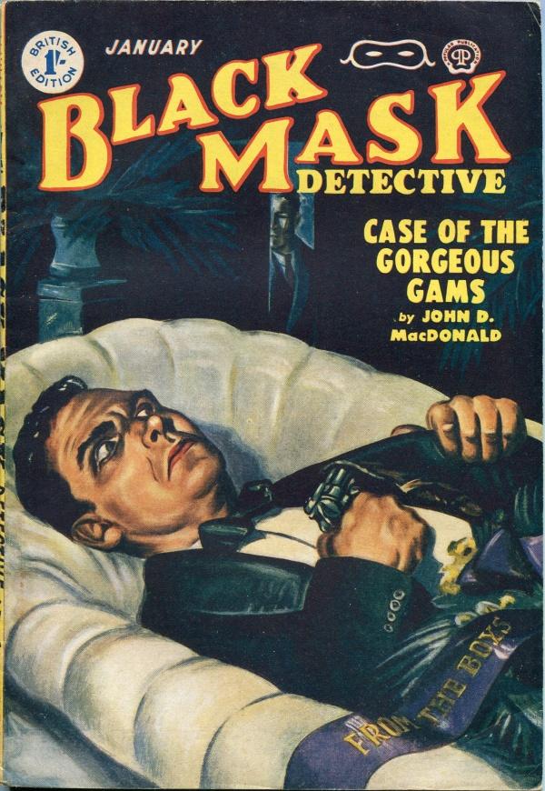 Black Mask January 1952
