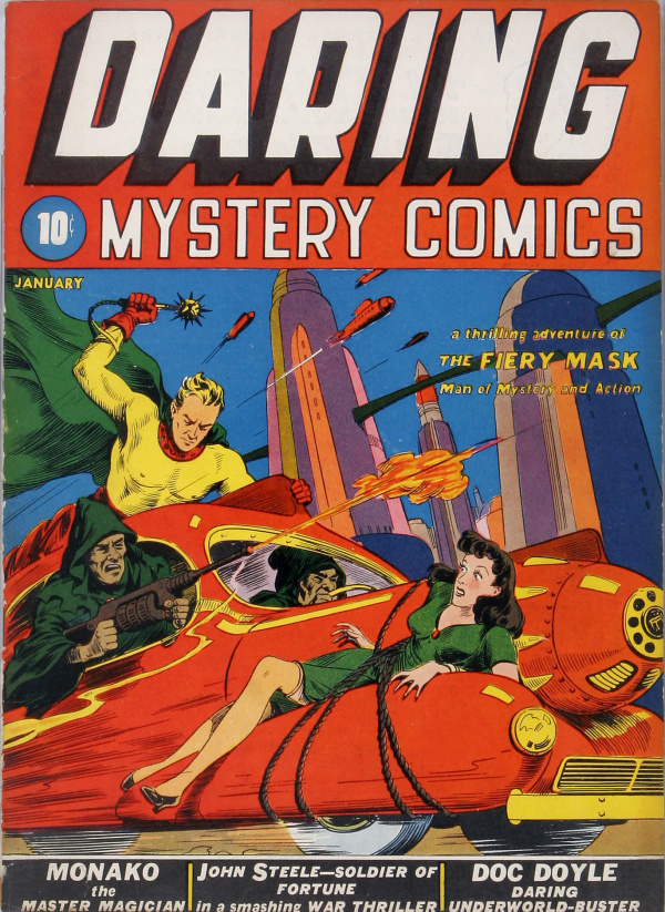 Daring Mystery Comics #1 (Timely, 1940)