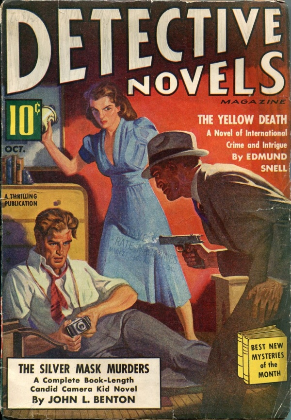 Detective Novels October 1939