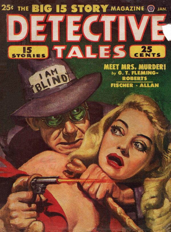 Detective Tales January 1949