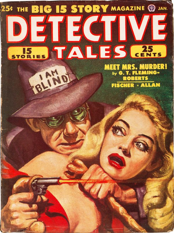 Detective Tales - January 1949