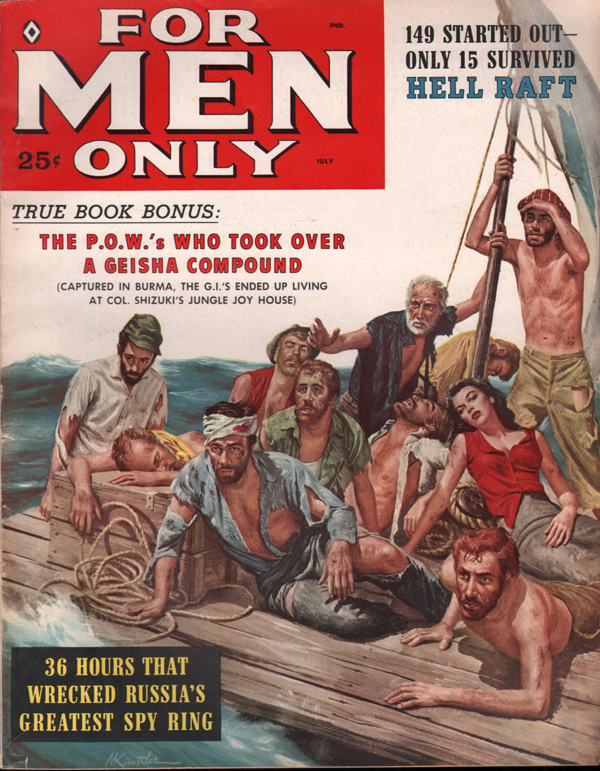 For Men Only July 1959