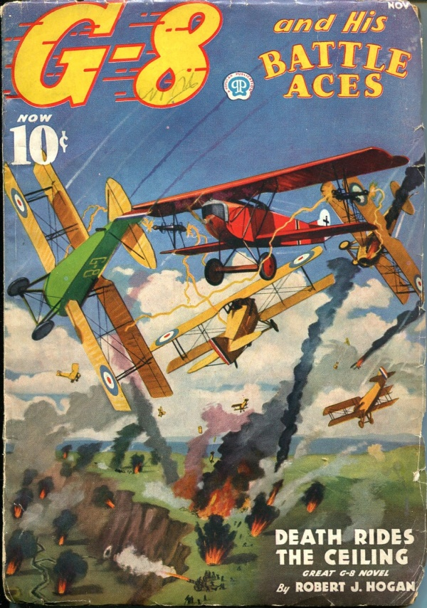 G-8 and His Batlle Aces November 1936
