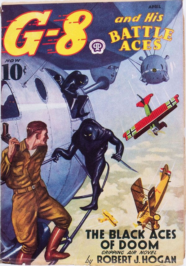 G-8 and His Battle Aces - April 1938