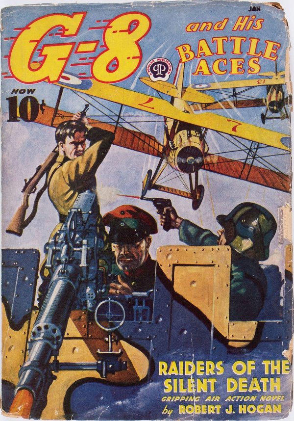 G-8 and His Battle Aces - January 1939