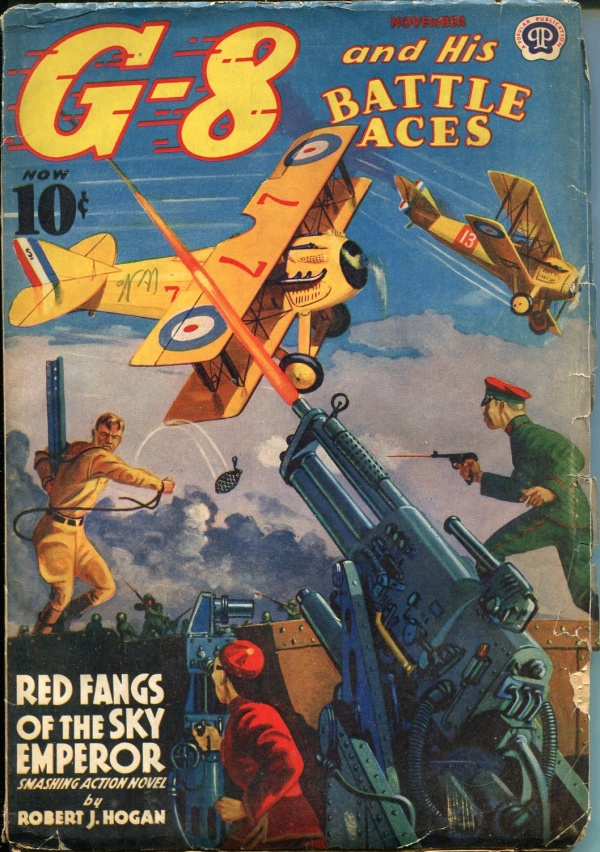 G-8 and His Battle Aces November 1939