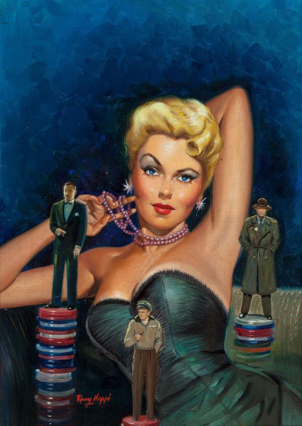 Gambler's Girl, paperback cover, 1951