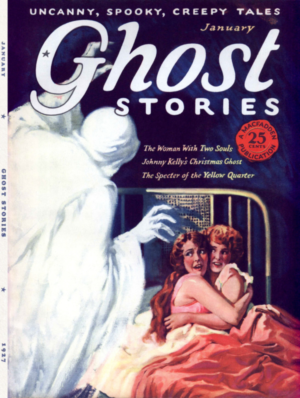 Ghost Stories v02n01 000 front cover