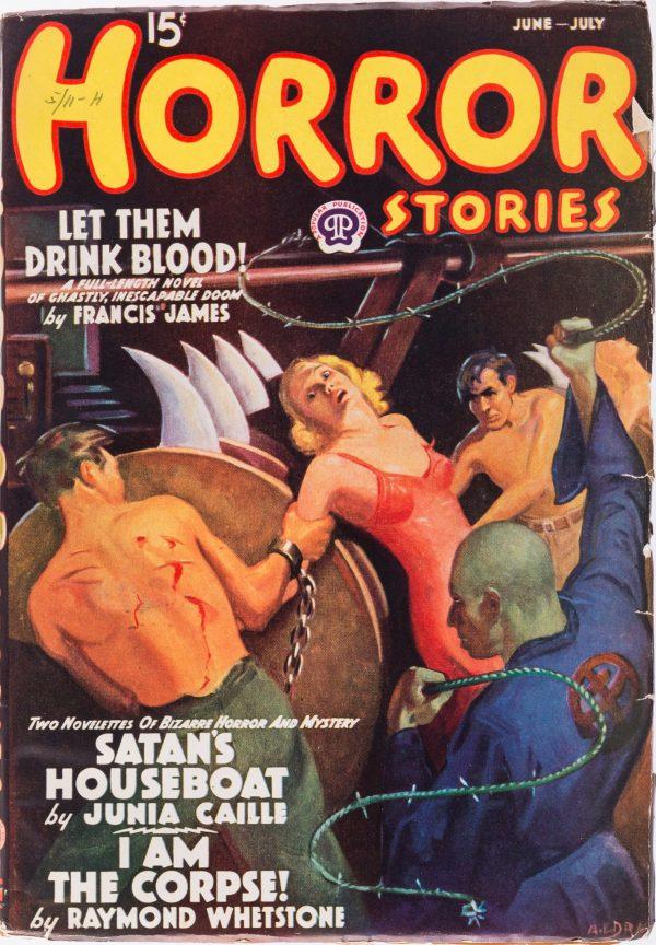 Horror Stories - June July 1938