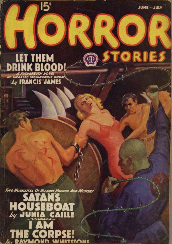 Horror Stories Magazine June-July 1938