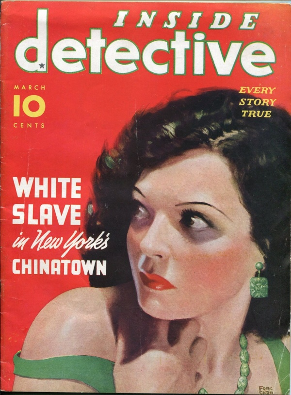 Inside Detective March 1936