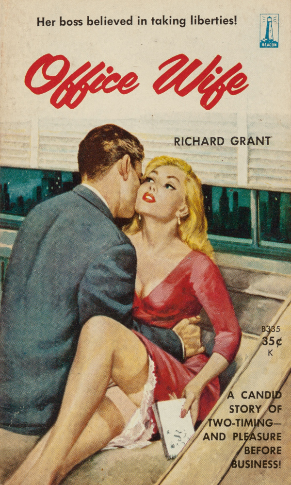 Office Wife by Richard Grant, Beacon Books 335, 1960