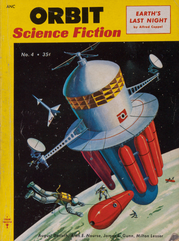 Orbit Science Fiction No. 4 October-November 1954