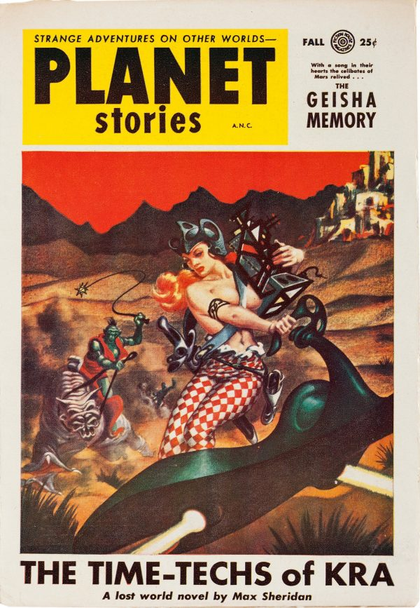 Planet Stories Fall 1954