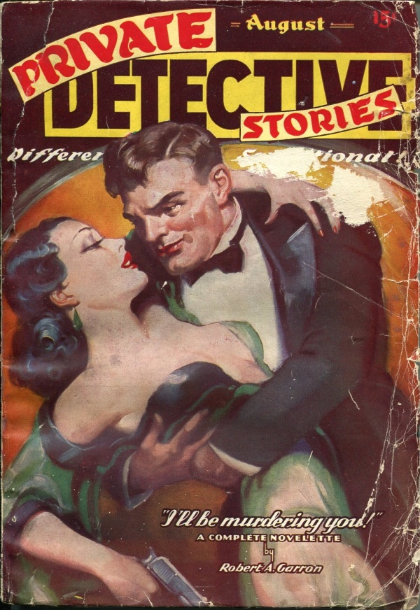 Private Detective Books August 1937