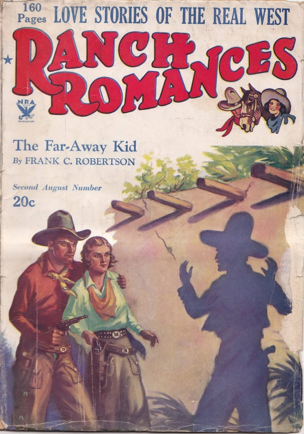 Ranch Romances August 24th 1934