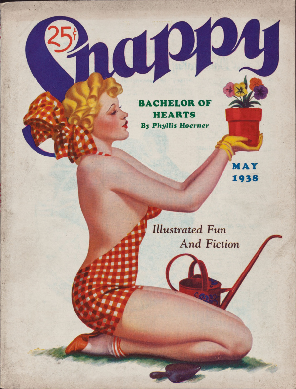 Snappy magazine cover, May 1938