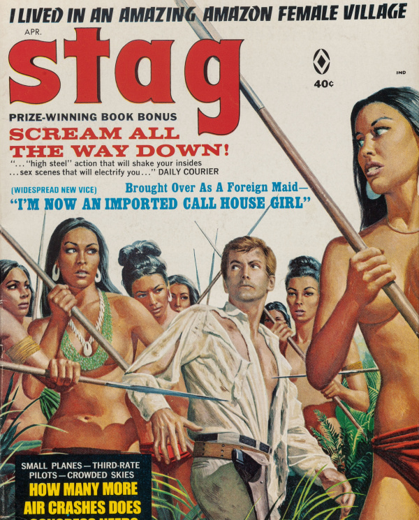 Stag magazine cover, April 1968