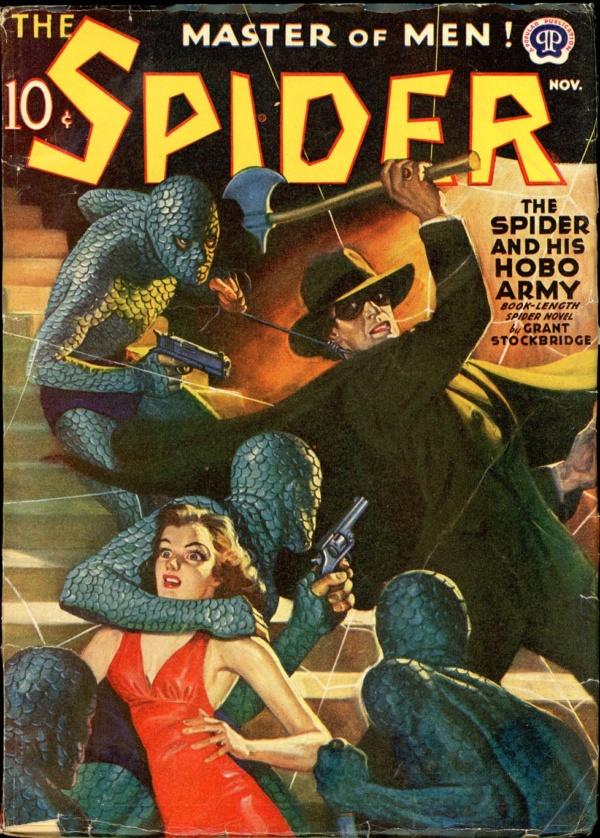 THE SPIDER. November, 1940