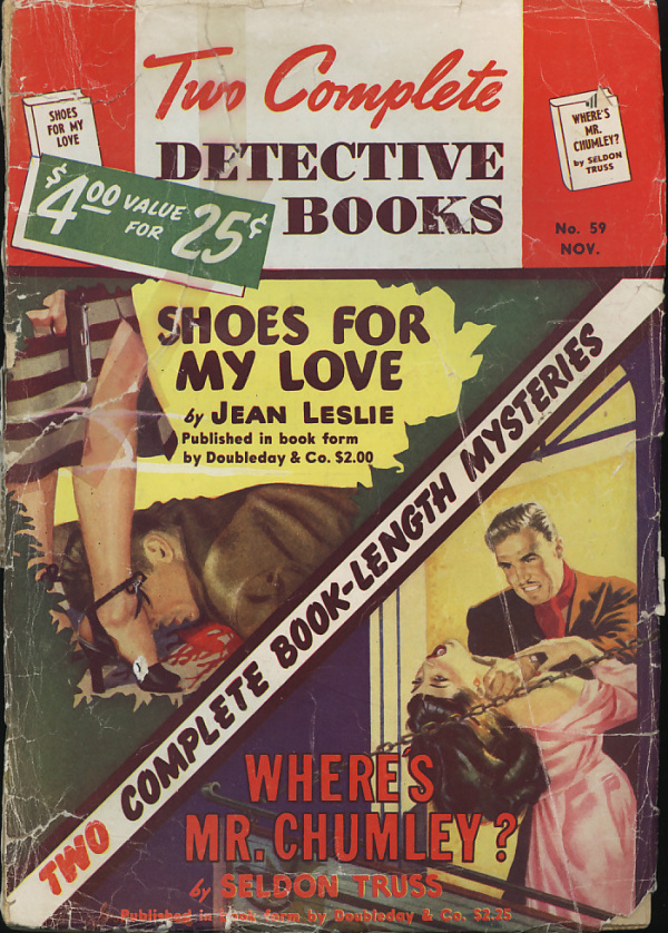 TWO COMPLETE DETECTIVE BOOKS November 1949
