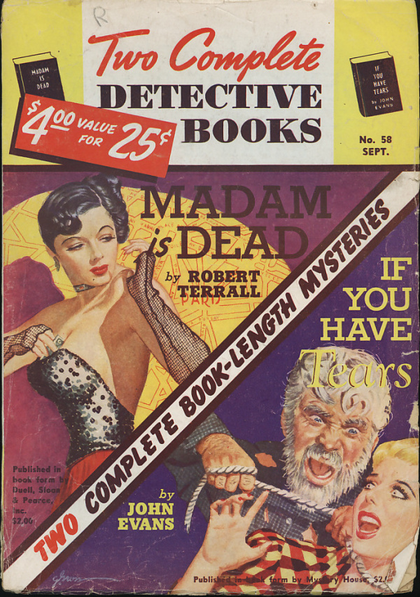 TWO COMPLETE DETECTIVE BOOKS September 1949