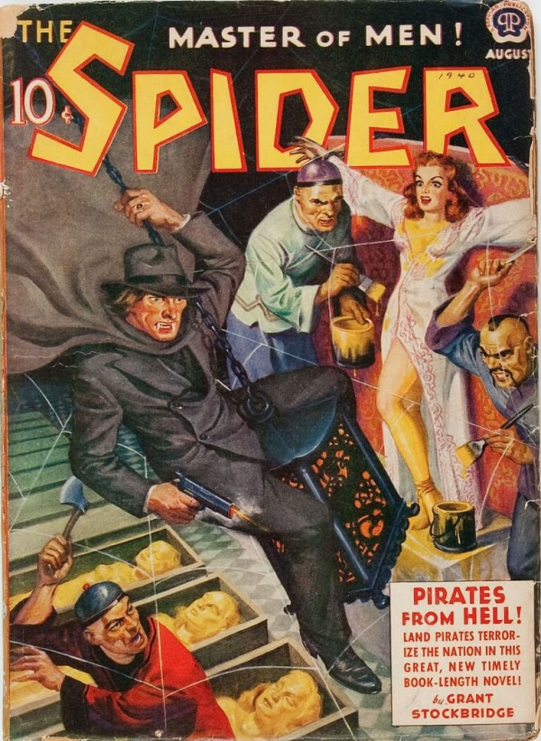 The Spider August 1940