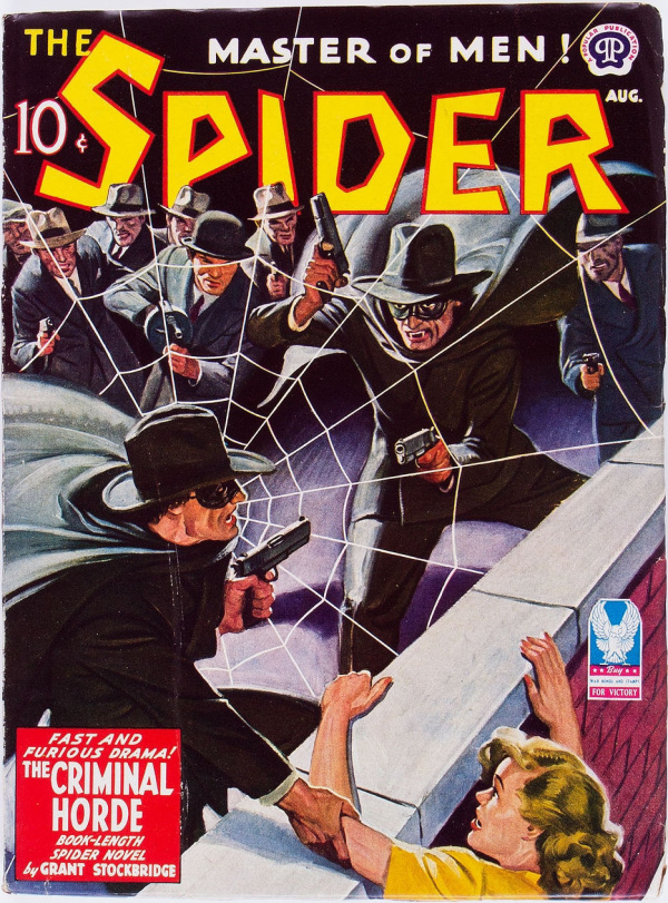 The Spider - August 1943